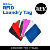 Tag passivo da lavanderia do silicone de Monza 5 860-960MHz RFID