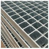 La grille composée galvanisée, la grille en acier avec le contrôleur plaque le dessus