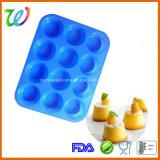 Фабрика 12 полостей продавая лотки булочки лотка выпечки силикона