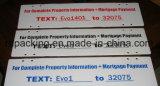 Печатание экрана для знака рифленых листов PP/Corflute/Correx/Coroplast для рынка Канады самого лучшего цены