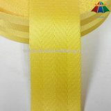 Asiento Grado superior de 1.5 pulgadas amarillo Nylon Cinturón de