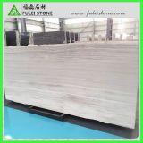 Белый деревянный мраморный белый деревянный мраморный сляб