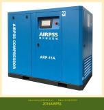 변환장치 (55-400kw)를 가진 Oilless 나사 공기 압축기