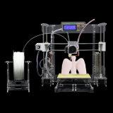 Machine van de Druk van Fdm DIY van de Transparent 3D Precisie van de Printers van Anet A8 Hoge 3D