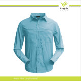 Chemises de robe de qualité de mode de l'homme fait sur commande de coton (S-01)