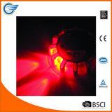 Disco Emergency infiammante del bordo della strada con il chiarore del LED
