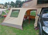 Neue Superüberlanddachspitze-kampierendes faltendes Zelt mit dem Anhang-Raum, der Deckel fährt