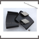 Sapatas de moedura do diamante quadrado dobro do Trapezoid