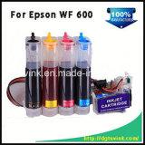CISS de la tinta del bulto de la inyección de tinta de la impresora de inyección de tinta T0691 para Epson Wf600 con tinta del papel de arte