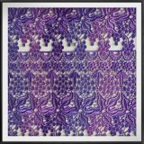 Laço químico da guipura do laço colorido de múltiplos propósitos Multicolor da guipura do laço da guipura