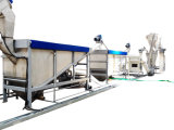 bottiglia dell'animale domestico 6500kg/H che ricicla la riga della macchina
