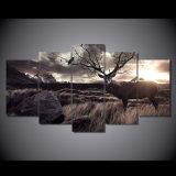 [هد] طبع حيوانيّ مشردة فنية [بينتينغ كنفس] [برينت رووم] زخرفة طبعة ملصقة صورة نوع خيش [مك-111]