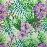 Ткань одежды сатинировки полиэфира Stretchable шифоновый напечатанная цветком
