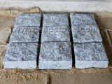G654 Cobblestone naturale, pietra per lastricati della strada privata grigia scura Polished del granito