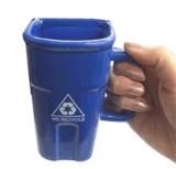 Tasse de café personnalisée drôle en céramique de cuvette de thé de modèle neuf
