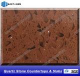 Pedra artificial de quartzo para a parte superior de tabela de superfície contínua do Countertop/
