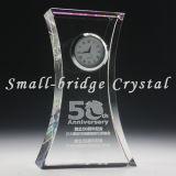 Reloj de tabla cristalino del hacha (BJ0028)