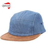新しいキャンバスのスエードの縁の最高の帽子の帽子