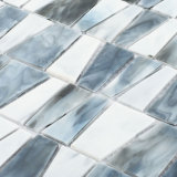 Поставщики Китая белые и серая мозаика плитки Backplash стеклянная для кухни