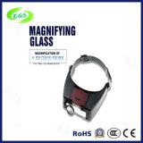 1.5X, 3X, 6.5X, 8X LEIDENE Medische Chirurgische Optische Lamp Magnifier/Lens met Licht (egs-81010-a)