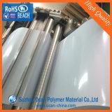 feuille lustrée de PVC de taille normale de 100cm*70cm, feuille rigide lustrée blanche de PVC, feuille blanche de PVC pour l'impression de Silk-Screen
