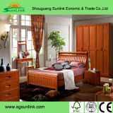 Muebles de madera de la ceniza sólida moderna del color de la mezcla con Armres