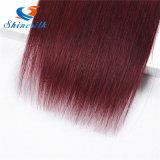 T1b Burgundy 99j Red Mink cabelo Virgin brasileira