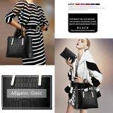 Europäische Art-Damentote-Beutel-Leder-Handtasche mit der grossen Kapazität