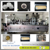 Einfacher Riss-Milch-Puder, Kaffee-Puder-Trommel-Schutzkappe, die Maschine herstellt