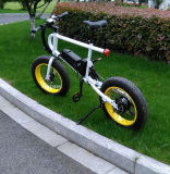 """"""" bici eléctrica de la nieve gorda del neumático 20 para el ejercicio de la montaña"""