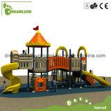 Grandes glissières de cour de jeu extérieure commerciale d'enfants à vendre