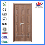 El laminado sólido de base diseña las puertas de madera de la chapa (JHK-013)