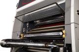 Automatische Hochgeschwindigkeitsfilm-Bedeckung-Maschine mit Fliegen-Messer (XJFMK-120)