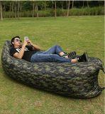 膨脹可能な屋外のソファーのポータブルはLoungerのキャンプ浜を袋に入れる