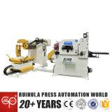 Ruihuiの厚く物質的な工場(MAC3-800)のためのDecoilerのストレートナの送り装置