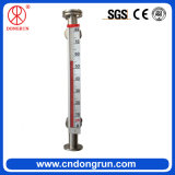 Medidor de nível líquido magnético Lado-Montado Uhz-99A da água