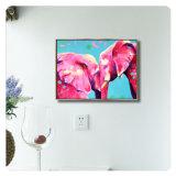 ホーム装飾のためのフレームが付いている壁の芸術オイルのキャンバスの絵画動物映像