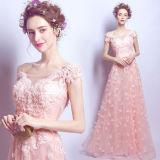새로운 디자인 Prom 야회복을 Wedding 무거운 구슬로 만드는 숙녀 당 약식 야회복