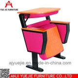 Деревянные стулы Yj1613r аудитории крышки задней части & места ткани