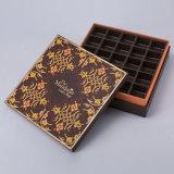 Boîte à chocolat de papier de carton d'OEM avec le logo estampé
