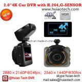 """Приватная 2.0 """" полная камера черного ящика автомобиля HD 1440p с автомобилем DVR Novatek 96660, G-Датчиком, ночным видением, паркуя видеозаписывающим устройством цифров черточки вагона управления"""