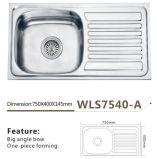 Küche-Wannen-grosser Winkel-Filterglocke-Einteiler, der Wls7540-a bildet