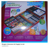 146PCS Drawing Art Set en Wooden Box para Kids y Students
