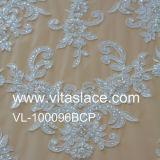 Appliques chineses do laço da fábrica da largura de 16cm para o vestido de casamento Vf-007bc