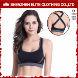 Yoga Sports Women Sexy Nude Sublimation Sport Bra Zip