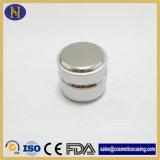 tarro de plata plástico de aluminio de 30g 50g para el cosmético (SKH-1449)