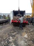 Rullo compressore utilizzato 40FT-Container-Shipping Pecora-Piede-Ricoperto di Dynapac Ca30pd del Deutz-Motore 12~25ton