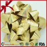 صناعة رقيقة معدنيّة معدنيّة هبة [بّ] وشاح عيد ميلاد المسيح نجم إنحناء
