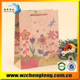 Umweltfreundlicher natürlicher Packpapier-Nahrungsmittelgeschenk-Beutel Brown-