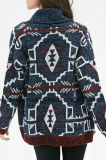 Wolljacke-Strickjacke der Soem Dame-Fashion Hot Sales Long (W17-729)